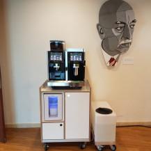 Flexcafé -  Eversys Pro E4m op meubel met 75 ltr watertank - Reehorst