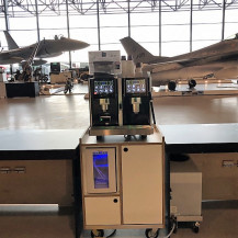 Flexcafé - Eversys Pro E4m op unit - Nationaal Militair Museum