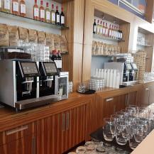 Flexcafé - 2 x Eversys Pro E4m espresso machines inbouw - Volvo Ocean Race