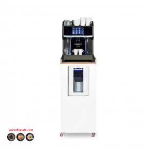 Espresso machine C2m op meubel