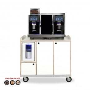 Espresso machine Pro E4m Zelfbediening op meubel